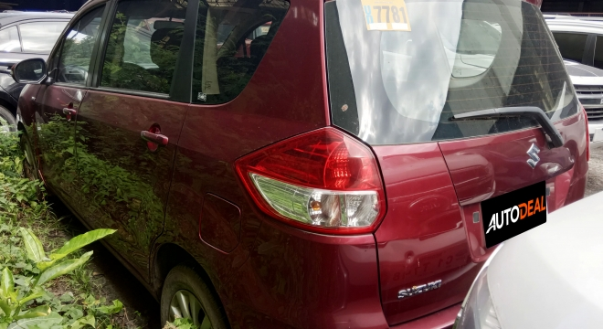 2016 Suzuki Ertiga GLX 1.4L AT Gasoline