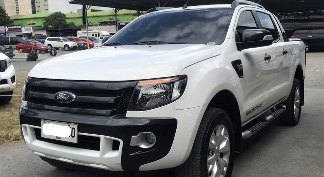 2015 Ford Ranger 2.2 Wildtrak 4X2 AT