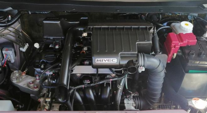 2017 Mitsubishi Mirage G4 1.2L MT Gasoline