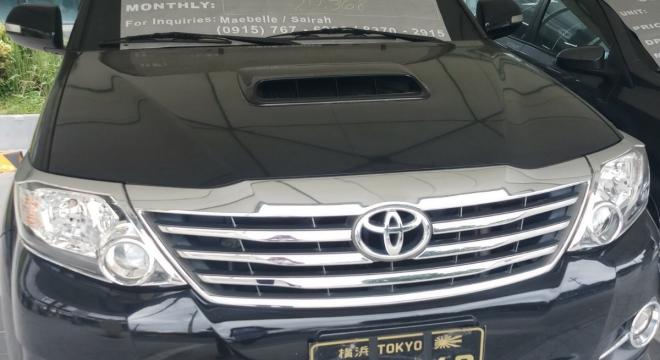 2016 Toyota Fortuner G AT DSL