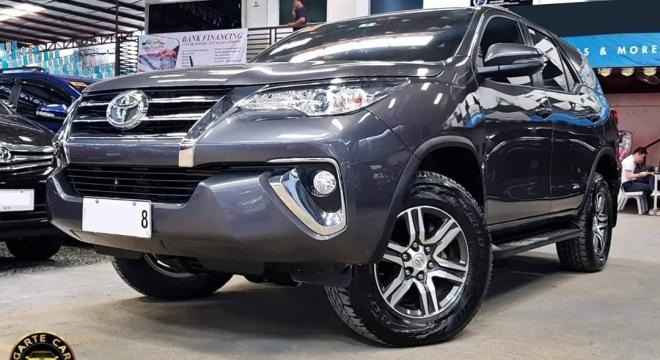 2019 Toyota Fortuner 2.7L AT Gasoline