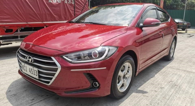2016 Hyundai Elantra 1.6L AT Gasoline