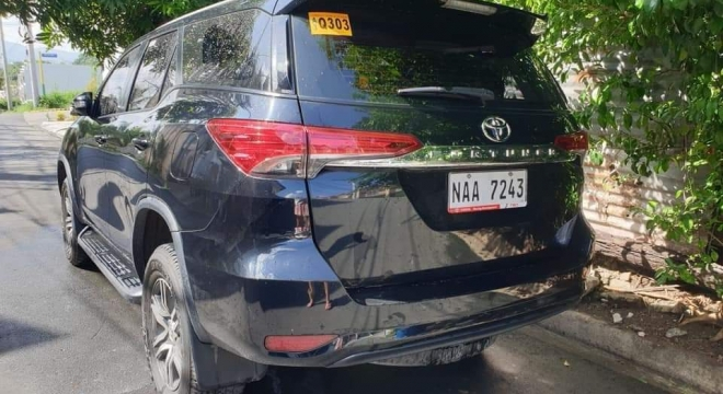 2018 Toyota Fortuner 2.4L AT Diesel
