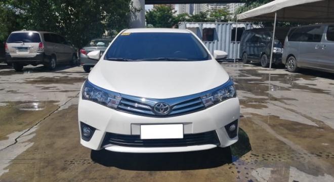 2016 Toyota Altis G 1.6L AT Gasoline