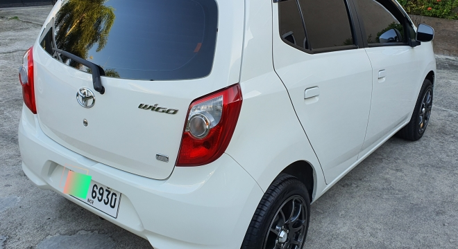 2015 Toyota Wigo E MT