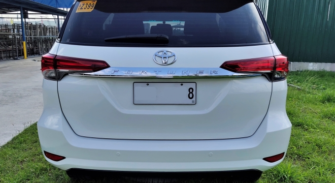 2018 Toyota Fortuner G 2.5L AT Gasoline