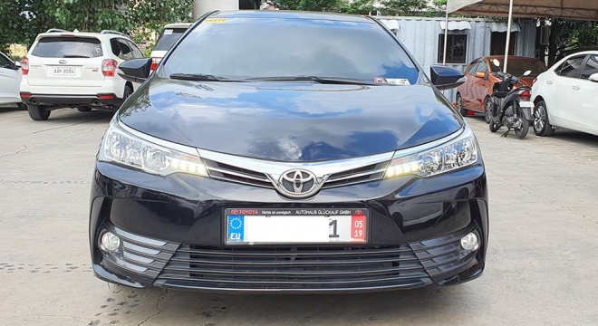 2018 Toyota Corolla Altis G 1.6L AT Gasoline