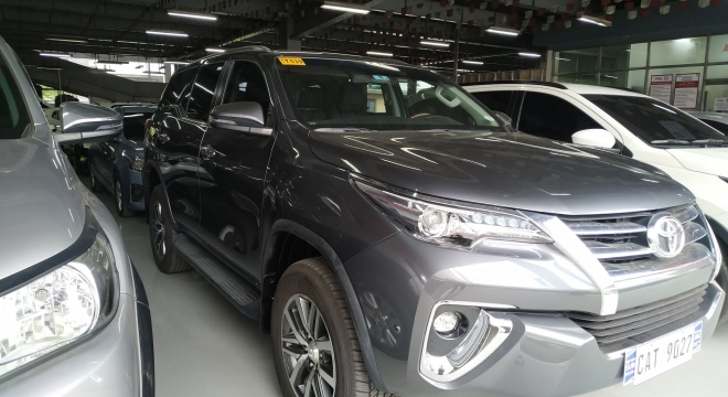 2020 Toyota Fortuner G 2.4L AT Diesel (4x2)
