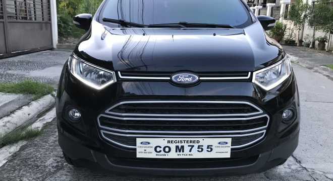 2018 Ford EcoSport 1.5L AT Gasoline