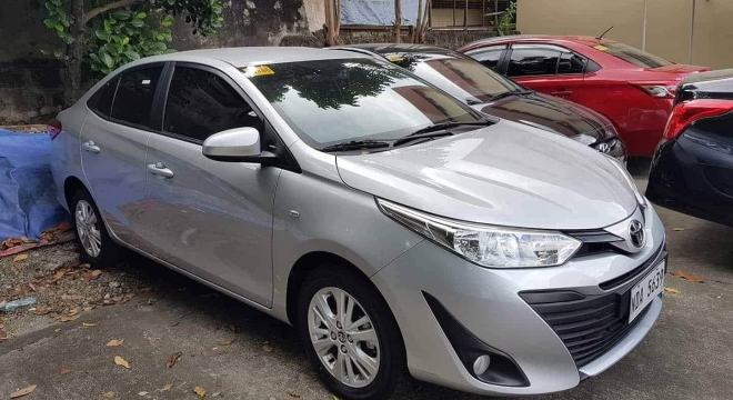 2019 Toyota Vios 1.3 E MT