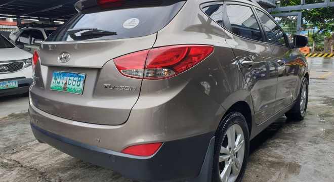2010 Hyundai Tucson 2.0 GLS AT
