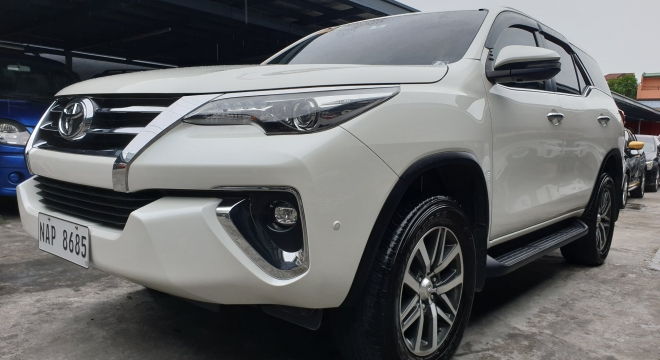 2018 Toyota Fortuner 2.4L AT Diesel