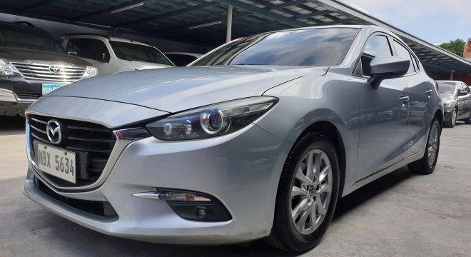2017 Mazda 3 Hatchback 1.5L SkyActiv AT