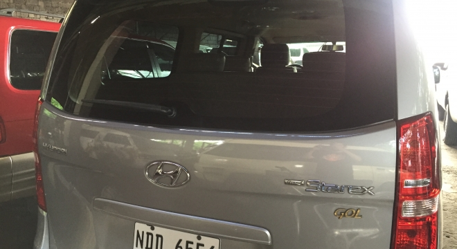 2015 Hyundai Grand Starex Gold