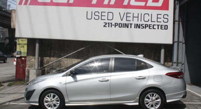 2018 Toyota Vios 1.3L CVT GASOLINE