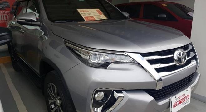 2017 Toyota Fortuner 4X2 V Diesel AT 2.4L AT Diesel