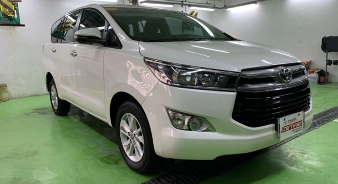 2018 Toyota Innova 2.8 G Diesel MT