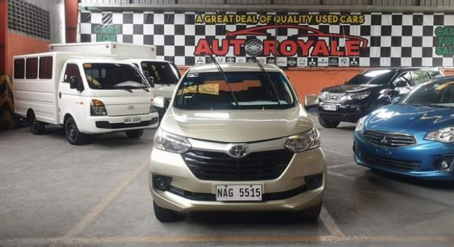 2017 Toyota Avanza E AT