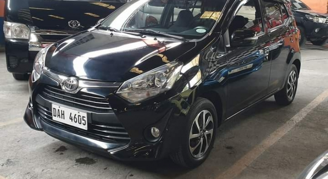 2018 Toyota Wigo G AT