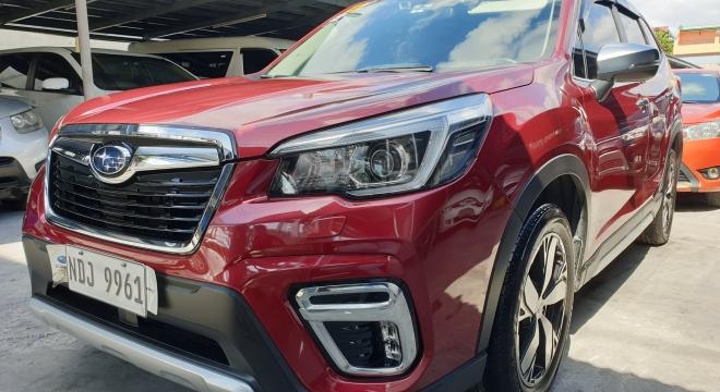 2019 Subaru Forester 2.0i-S EyeSight CVT