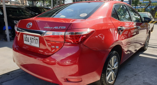 2014 Toyota Corolla Altis 1.6G AT