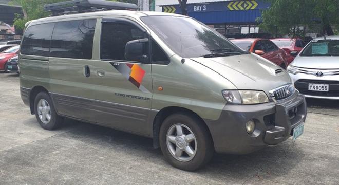 2002 Hyundai Starex 2.5L AT Diesel