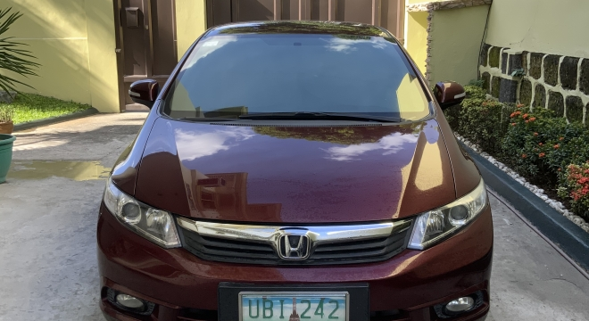 2012 Honda Civic 1.8 V AT