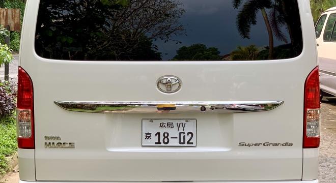 2016 Toyota Hiace 3L AT Diesel