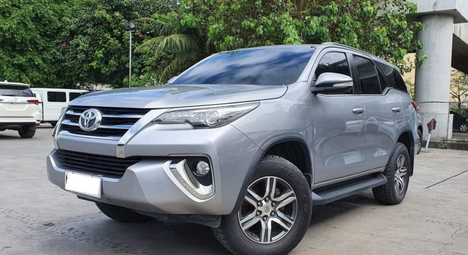 2016 Toyota Fortuner 2.7L AT Gasoline