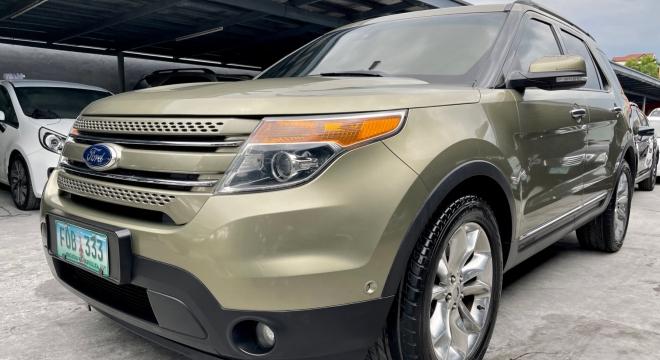 2013 Ford Explorer 3.5L Limited