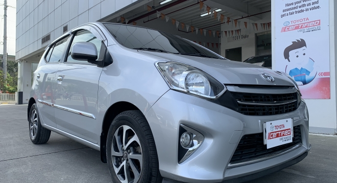 2016 Toyota Wigo G AT