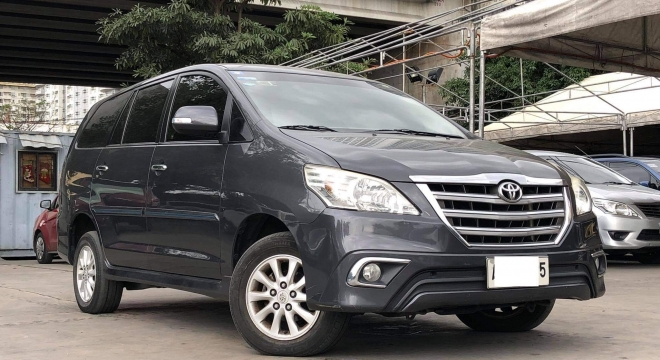 2015 Toyota Innova 2L V AT Gasoline