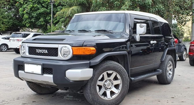 2014 Toyota FJ Cruiser 4.0L AT Gasoline