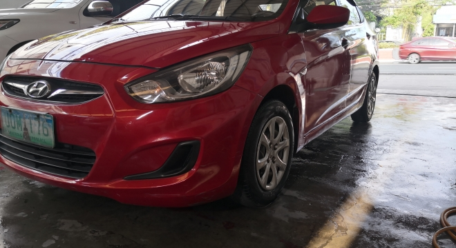 2012 Hyundai Accent Sedan 1.4 MT Gasoline