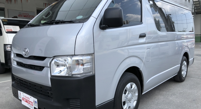 2019 Toyota Hiace 3.0 Commuter MT