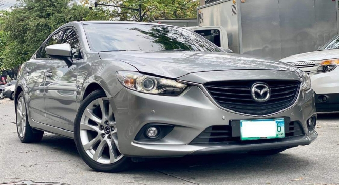 2013 Mazda 6 Sedan SkyActiv G