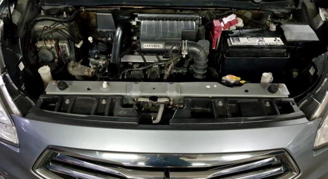 2017 Mitsubishi Mirage G4 1.2L AT Gas