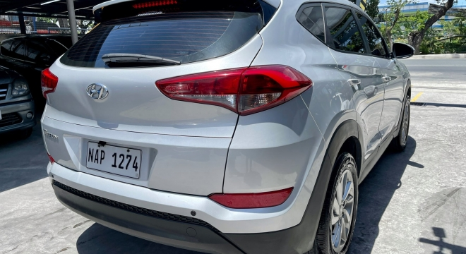 2018 Hyundai Tucson AT Gasoline