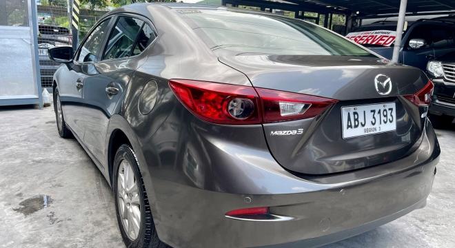 2015 Mazda 3 Sedan 1.6L AT Gasoline