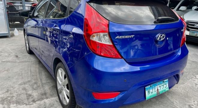 2013 Hyundai Accent Hatchback 1.6 E Diesel AT