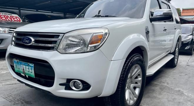 2013 Ford Everest 2.5L AT Diesel