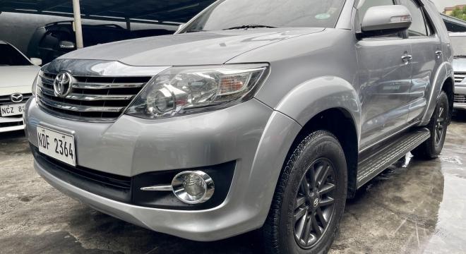 2016 Toyota Fortuner 2.7L AT Gasoline