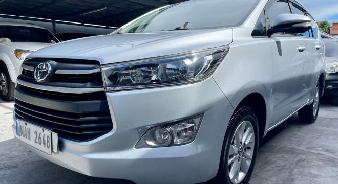 2017 Toyota Innova 2.0 E Gas AT