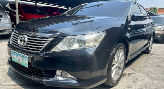2012 Toyota Camry 2.4G AT