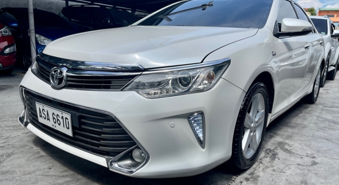 2015 Toyota Camry S AT Gas
