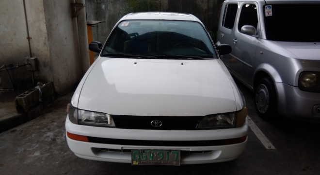 1996 Toyota Corolla Gli Mt Used Car For Sale In Dumaguete City