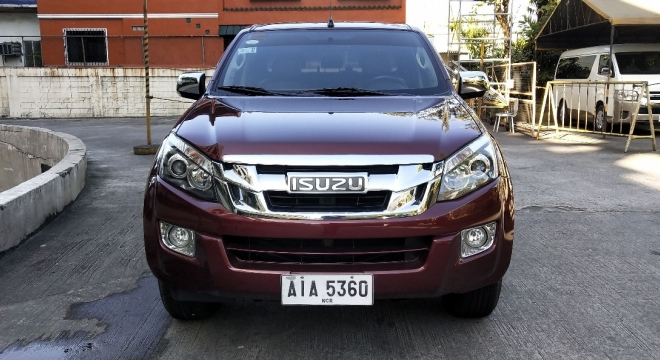 2015 isuzu d-max 3.0l at diesel used car for sale in cainta, rizal, calabarzon autodeal