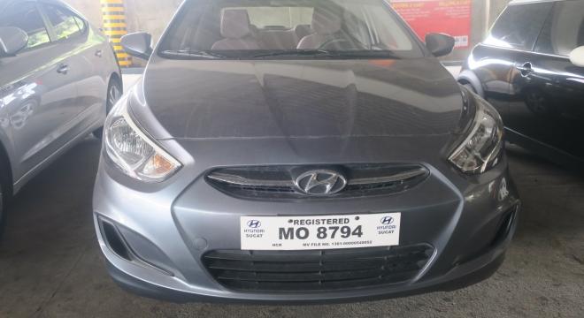 2016 Hyundai Accent Sedan GL 1.4L MT Gas
