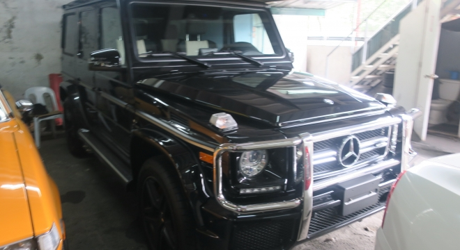 2016 Mercedes-Benz G-Class 5.5L AT Gasoline