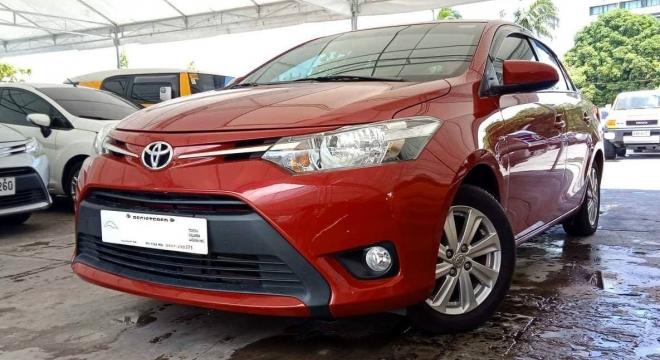 2017 Toyota Vios 1.3E AT